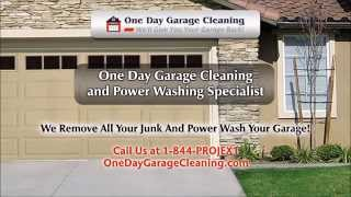 One Day Garage Cleaning NJ, Jersey Shore, Central Jersey - Giving You Your Garage Back!