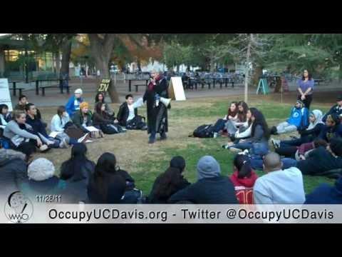 CRD 2: Ethnicity and American Communities, Occupy UC Davis General Strike, Nov 28