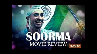 Soorma Movie Review: Diljit Dosanjh as Sandeep Singh is true to life but Shaad Ali misses the goal