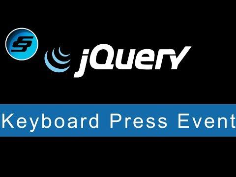 Keyboard Press Event - jQuery Ultimate Programming Bible thumbnail