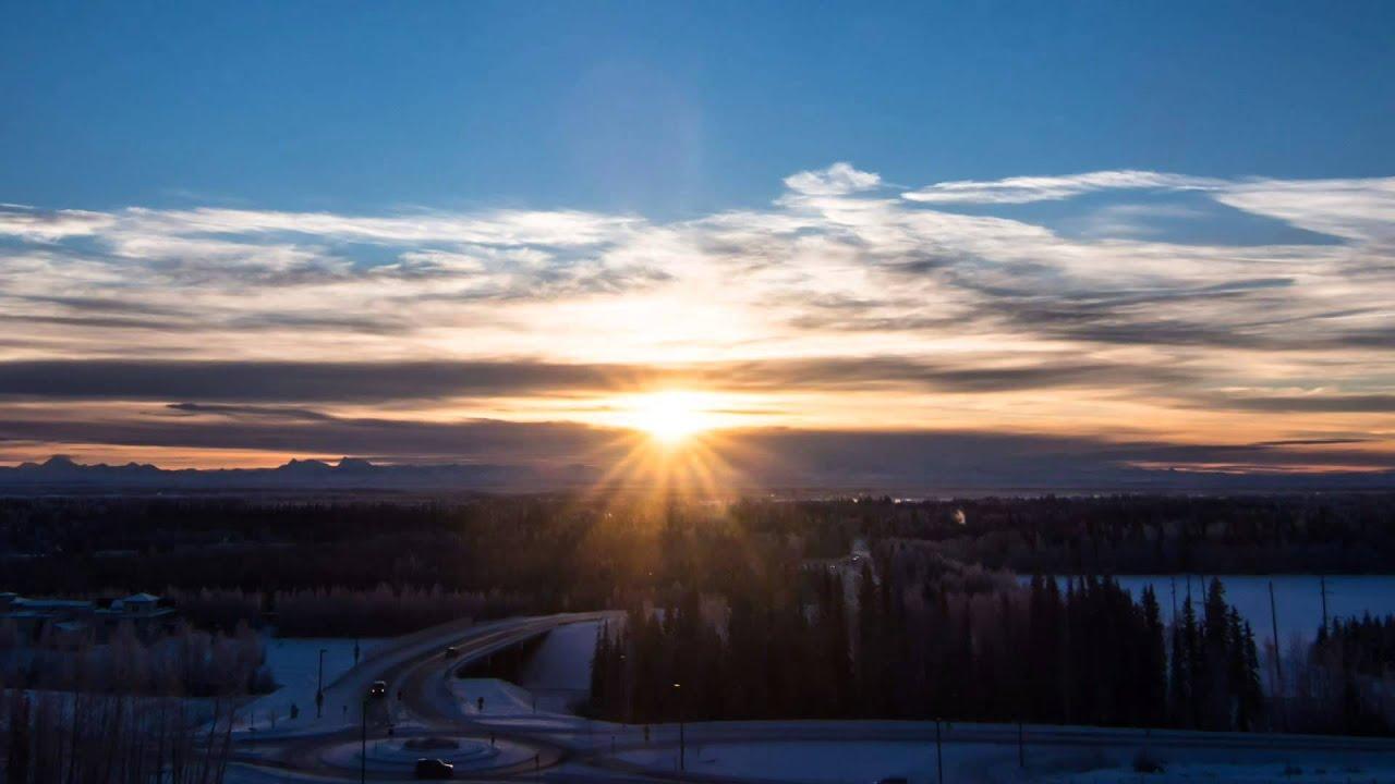 winter solstice timelapse fairbanks alaska youtube. Black Bedroom Furniture Sets. Home Design Ideas