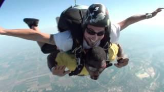 Michael Willis's Tandem skydive!