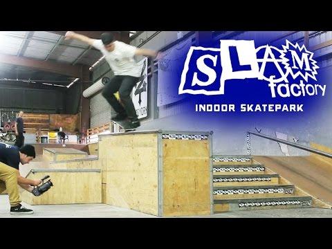 SLAM FACTORY Indoor Skatepark, Tuggerah 2013