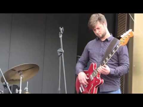 Kasper Lang Quartet, At Ofelia Square, Copenhagen  1/