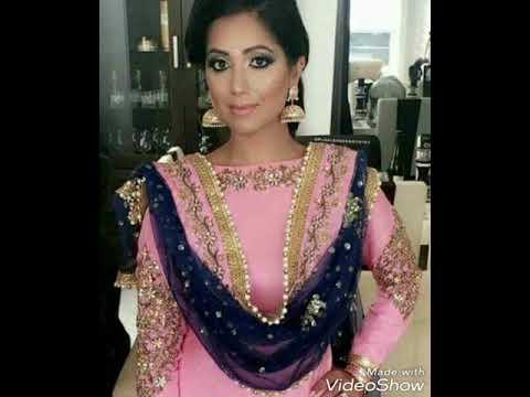 1b26e58921 Latest boutiqe work suit Punjabi party wear suit 2018 - YouTube