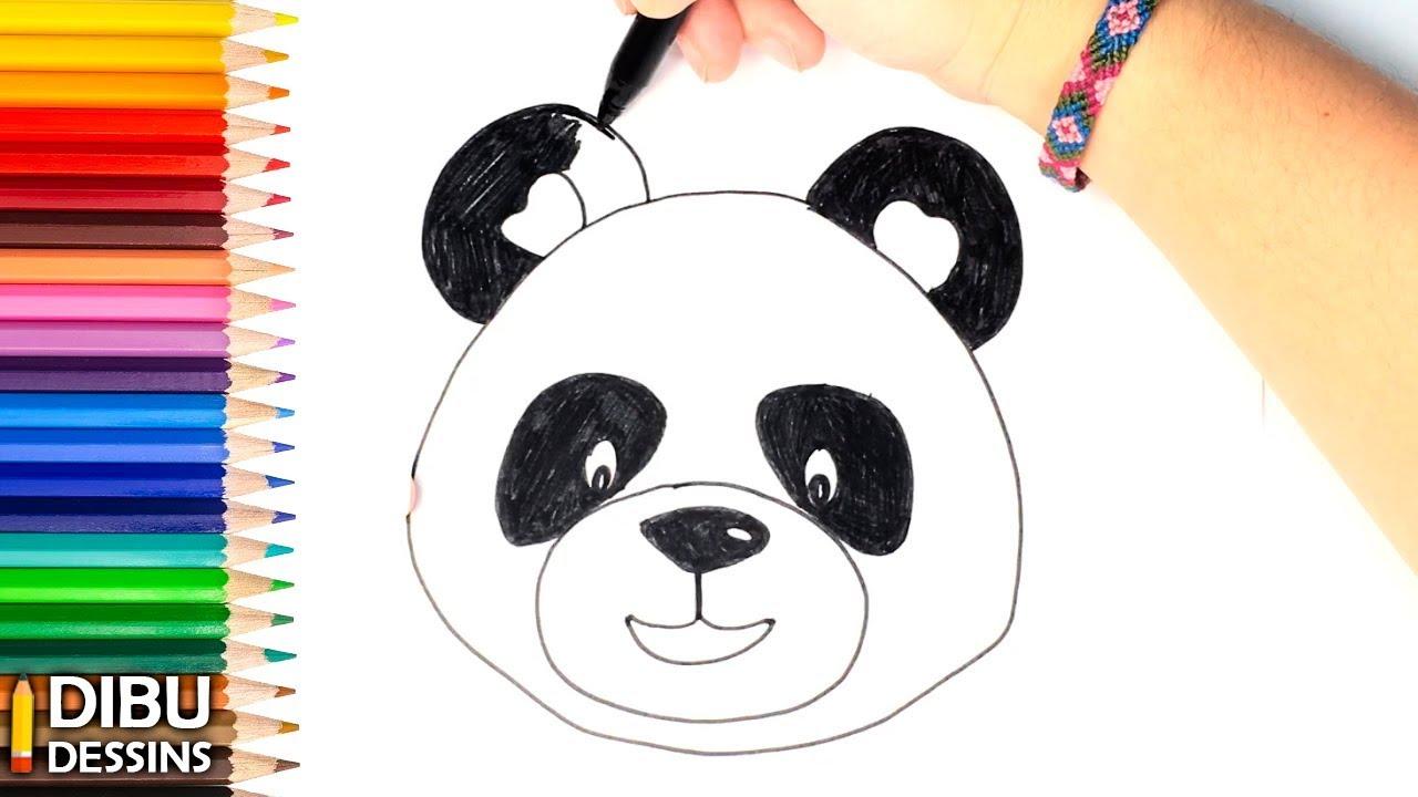 Comment Dessiner Un Ours comment dessiner un ours panda | dessin de ours panda - youtube