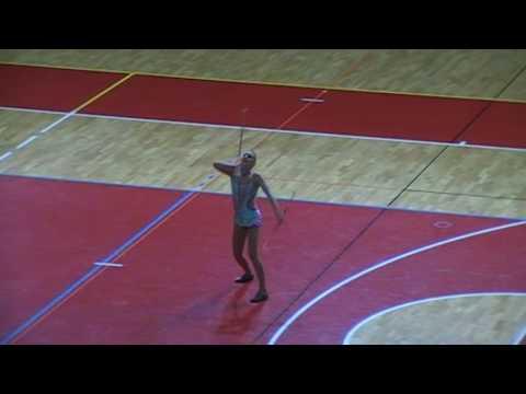 Twirling EC 2017 Porec - Finals 2 baton danique visker