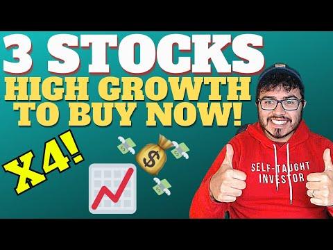 3 BEST TOP GROWTH STOCKS TO BUY NOVEMBER 2020 | STOCKS I BOUGHT HIGH GROWTH PORTFOLIO