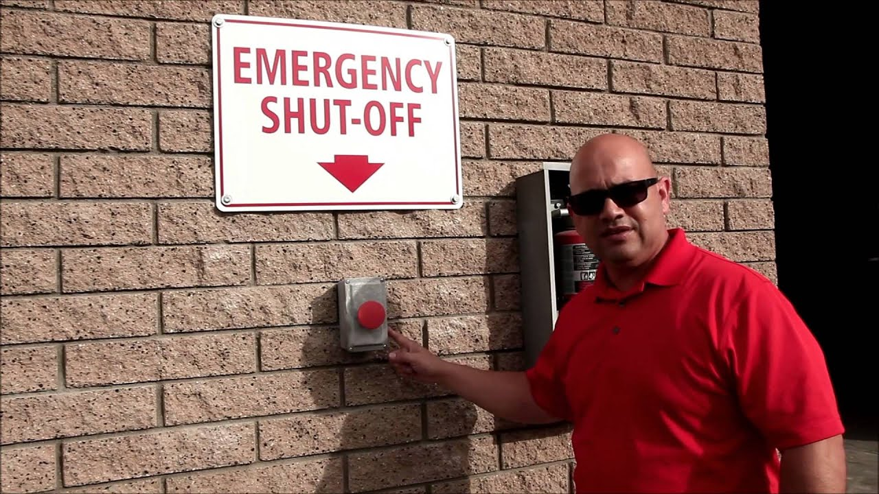 DWA Emergency Shut Off Procedures