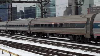 Amtrak & NJ Transit in Harrison Station (PATH)