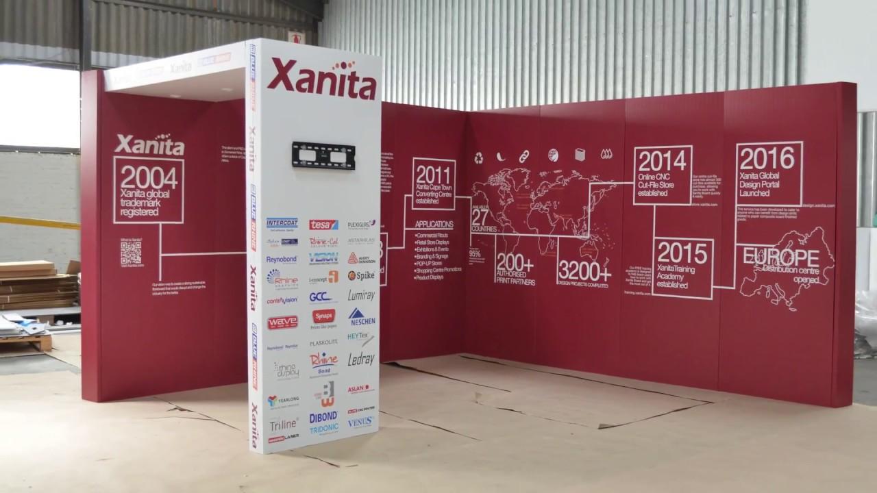 Exhibition Stand Assembly : Sgi dubai xanita exhibition stand quick assembly