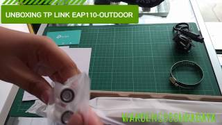unboxing 300mbps wireless n outdoor access point eap110 outdoor