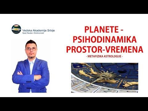PLANETE - PSIHODINAMIKA PROSTOR-VREMENA