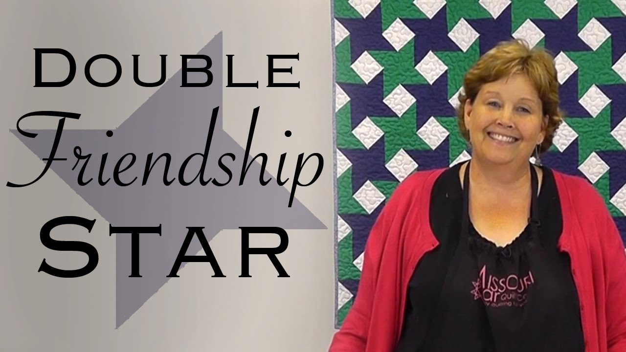 The Double Friendship Star: Easy Quilting With Jelly Rolls