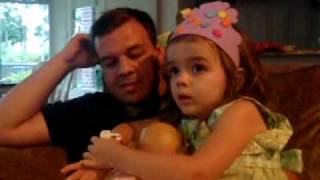 Kate's new potty watch.AVI