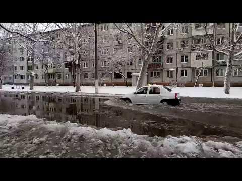Улица Варненская в Одессе превратилась в реку