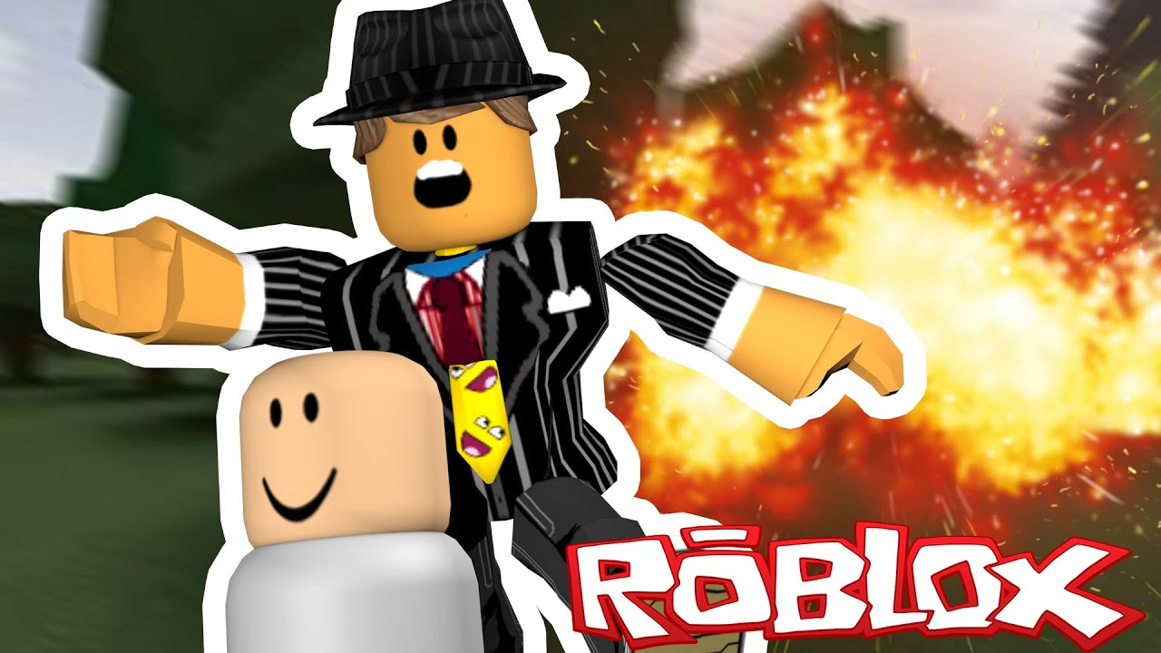 BABY BLOWS UP HOUSE IN ROBLOX!!
