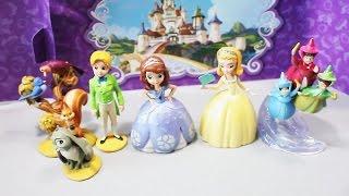 Принцесса София и подруги куклы. Развлекающие и развивающие видео обзоры детских игрушек
