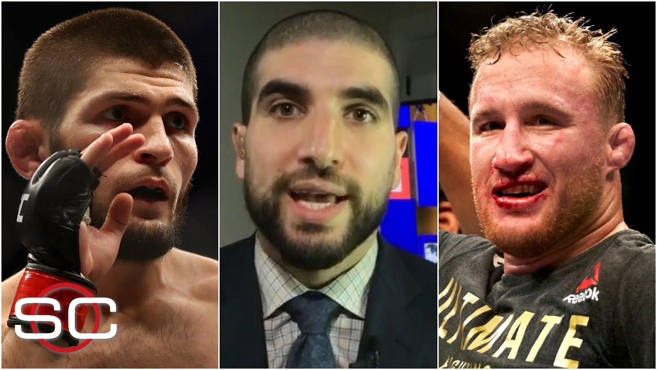 Khabib Nurmagomedov vs. Justin Gaethje this summer? Here's how likely it is | SportsCenter