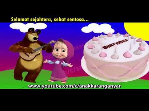 selamat-ulang-tahun-❤-lagu-anak-indonesia-populer-❤-boneka-masha-&-the-bear