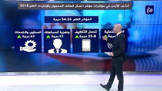 تعرف على وضع الأردن في مؤشر اتصال الهاتف المحمول بالإنترنت عالميا  (28/8/2019)