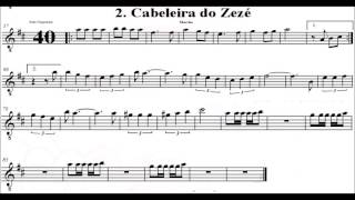 Baixar Marchinha de Carnaval - Cabeleira do Zéze - Partitura - Playback - Sax Alto