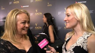 Silver linings playbook actress jacki weaver has racked up plenty of awards attention for her role in the film. we spoke with at australian academy o...
