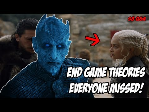 End Game Theories! Game Of Thrones Season 8 (Q&A)