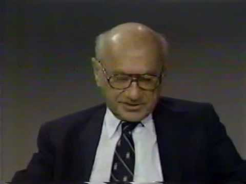 """S25E37 Firing Line with William F. Buckley, """"""""What Do We Owe Our Country?"""" Guests: Milton Friedman."""