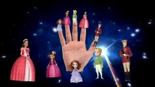 Sofia The First Finger Family Song Collection - Sophia finger Family