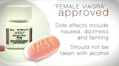 FDA Approves Female Viagra! (NOT SAFE WITH ALCOHOL!)