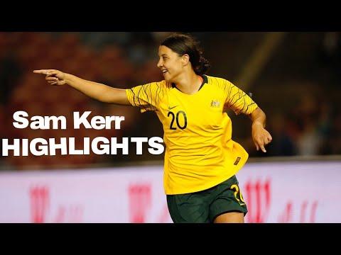 Sam Kerr highlights - (Goals/Assists)
