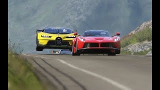 Download Bugatti Vision GT vs Super Cars at Highlands Mp3 and Videos