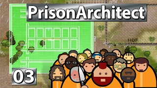 Der erste Zellenblock ► Prison Architect S2 #3