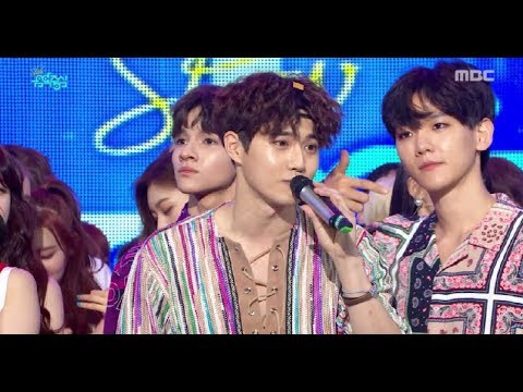 [HOT] 2nd Week in Aug.'s No.1 Song Went To EXO! Show Music core 20170812