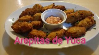 Receta Arepitas de Yuca | Recetas Fáciles