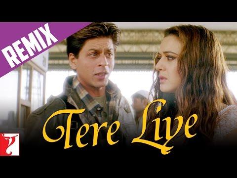 Remix: Tere Liye Song | Veer-Zaara | Shah Rukh Khan | Preity | Lata Mangeshkar | Roop Kumar Rathod