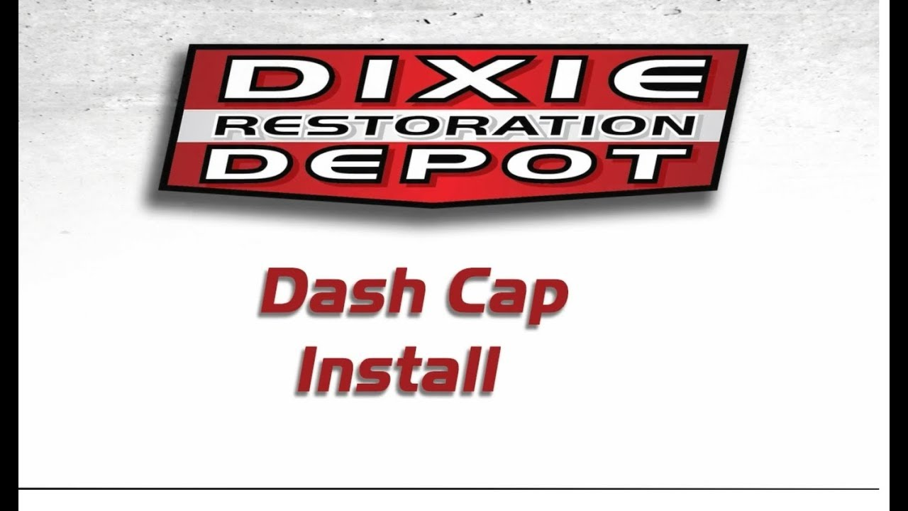 78-88 G-Body Dash Cap/ Cover Install