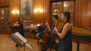 Presto für Violine, Blockflöte und b.c. (TWV 42:d10) - G. Ph. Telemann | Ensemble I Zefirelli 2018