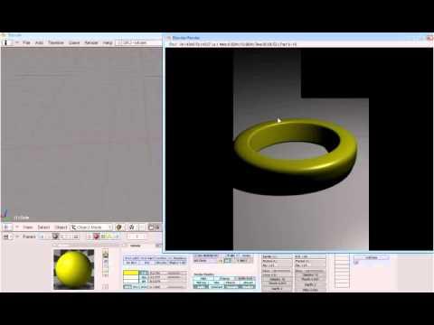 Blender 2.49b Tutorial: Realistic Gold texture