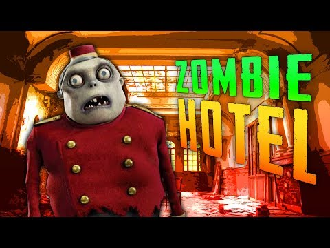 HAUNTED ZOMBIE HOTEL (Call of Duty Zombies - Eiskalt)