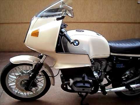 R 100 S 1000 Cc 1980 Bmw Branco Perola Youtube