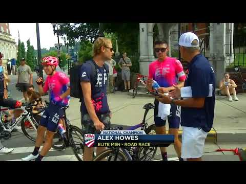 Live Coverage Of The USA Cycling Pro Road Championship In Knoxville.