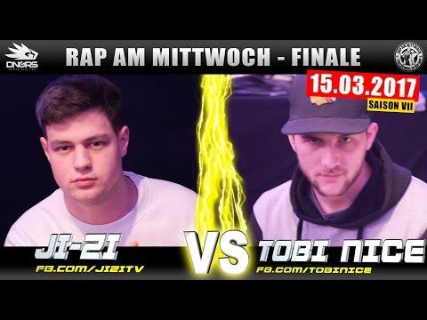 RAP AM MITTWOCH WIEN: JI-ZI vs TOBI NICE 15.03.17 BattleMania Finale (4/4) GERMAN BATTLE