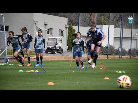 #SelecciónFemenina Así se preparó la Sub 17 para el Torneo Internacional