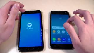 Samsung Galaxy J4 2018 vs Samsung Galaxy J3 2017