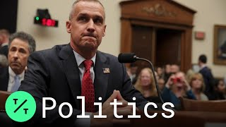 Trump's Ex-Campaign Manager Cory Lewandowski Refuses to Answer Most Questions in Impeachment Probe