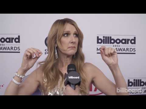 Celine Dion Interview On The Red Carpet - Billboard Music Awards 2016