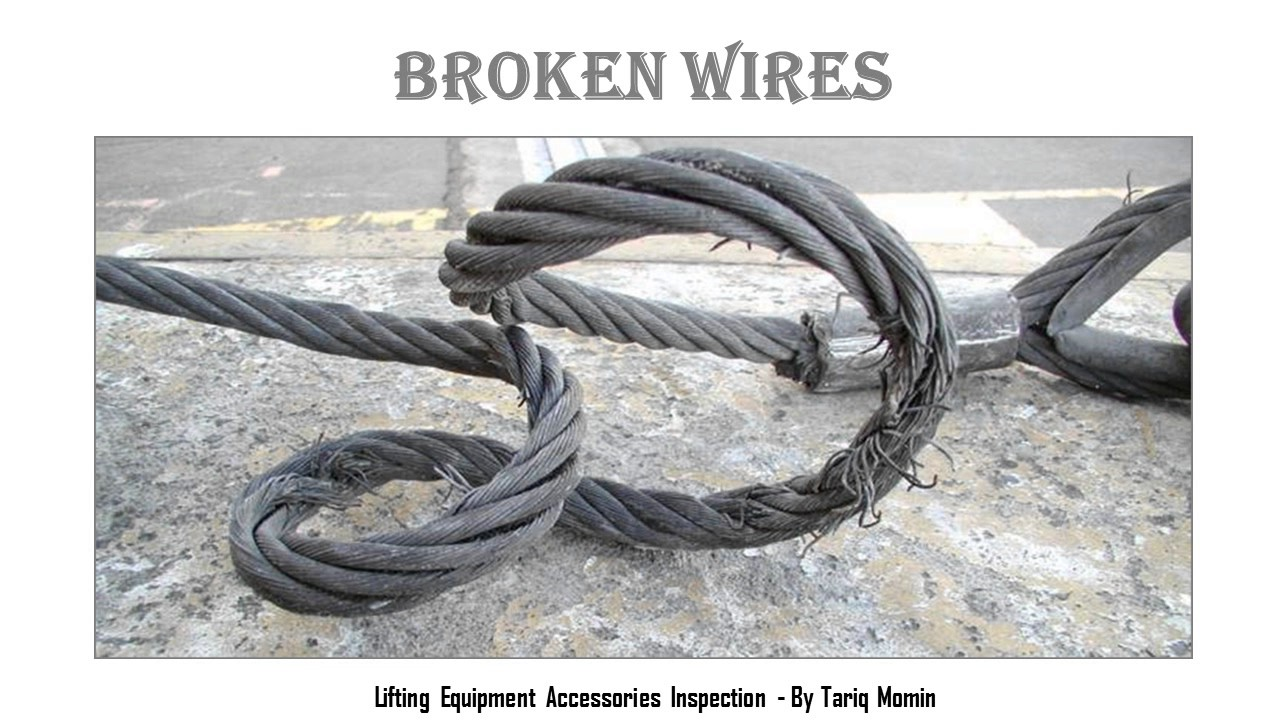 Wire Rope Sling Inspection - By Tariq Momin - YouTube