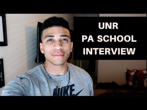 UNR PA School Interview
